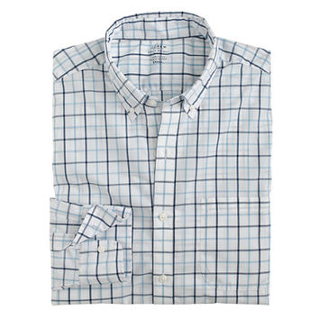 J.Crew Mens Slim Lightweight Secret Wash Shirt In Tattersall