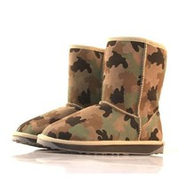 OASAP - Camouflage Print Snow Boots - Street Fashion Store
