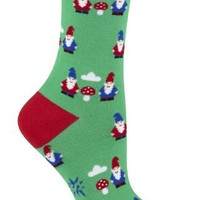 Sock It To Me Gnomes Crew Socks