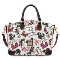 Minnie Mouse Hearts and Bows Satchel by Dooney & Bourke