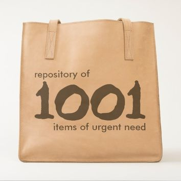 Repository of 1001 items UBUNTU Collection Tote