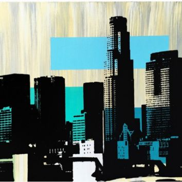 Los Angeles Blues skyline