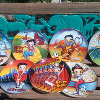 Betty Boop Limited Edition Collectors Porcelain Plates Contact me on what plate you would like