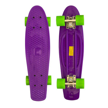 "22"" Complete Plastic Penny Style Street Classic Skateboard - Lilac"