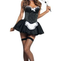 Sexy Seductive French Maid Costume for Adults-Party City