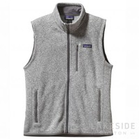 Men's Better Sweater® Fleece Vest in Stonewash | Lakeside Cotton