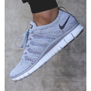 """""""NIKE"""" Trending New Fashion Sports Casual Running Shoes Grey"""