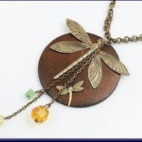 Maricel Dragonfly Necklace - 0911262-0