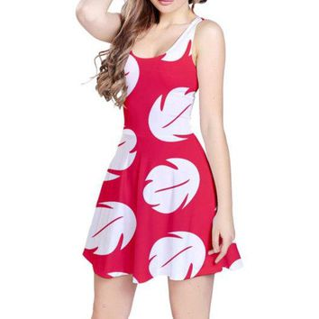 Adult Lilo and Stitch Inspired Sleeveless Dress