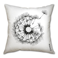 Designer pillow cushion with an Oduvan by DesignAtelierArticle