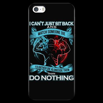 SAO Sword Art Online - I can't just sit back and wath some die - Iphone Phone Case - TL01188PC
