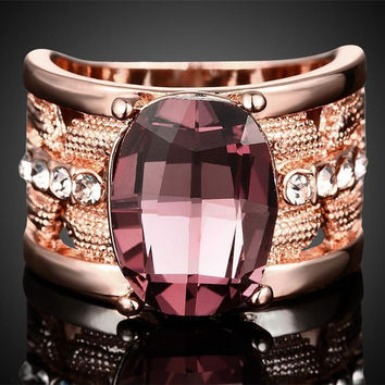 Anel Amethyst Rings For Women Anel Masculino Feminino Fashion Wedding Rings Anelli Donna Anelli Uomo Bague Homme Men Jewelry