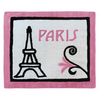 Sweet Jojo Designs Paris Area Rug