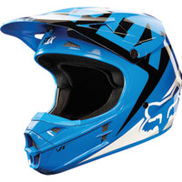 Fox Racing V1 Race Helmet 2015 Large Blue
