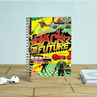 Back To The Future Old Poster Photo Notebook Auroid