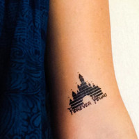 Cinderella's Castle Temporary Tattoos