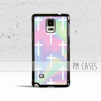 Pastel Crosses Case Cover for Samsung Galaxy S3 S4 S5 S6 S7 Edge Plus Active Mini Note 1 2 3 4 5