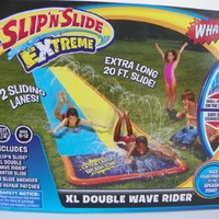 Wham-o Slip'n Slide Extreme Xl Double Wave Rider