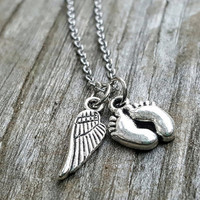 Infant Loss Jewelry, Infant Lost Necklace, Baby Memorial Gift, Infant Loss Gift, Pregnancy Loss Gift, Miscarriage Jewelry, Stillborn Jewelry