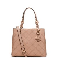 Cynthia Small Saffiano Leather Satchel | Michael Kors