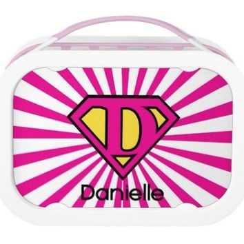 Yubo Lunchbox Personalized Super Girl Lunch box