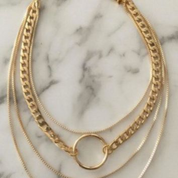VANESSA MOONEY | Fawn Necklace - Gold