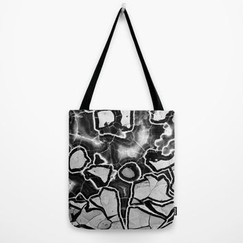 Cracked Tote Bag by UMe Images