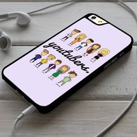 Youtubers Avatar iPhone 4/4s 5 5s 5c 6 6plus 7 Case