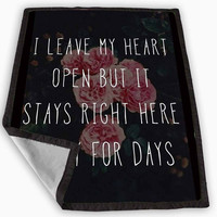 One Direction Story of My Life Blanket for Kids Blanket, Fleece Blanket Cute and Awesome Blanket for your bedding, Blanket fleece *