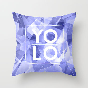 Dreams of YOLO Vol.3 Throw Pillow by HappyMelvin