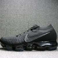 Best Deal Online 2018 Nike Air Max VaporMax Flyknit Men Women Running Shoes Black