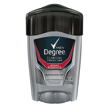 DEGREE MEN CLINICAL SPORT ANTIPERSPIRANT AND DEODORANT 1.7 OZ