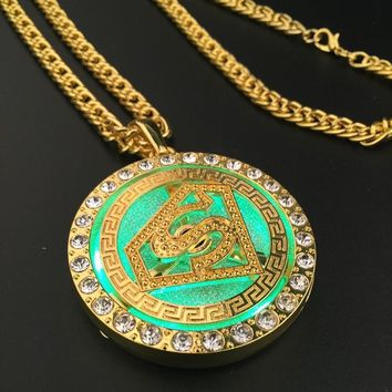 Stylish Jewelry Gift Shiny New Arrival Hot Sale Fashion Accessory Superman Lights Club Necklace [6542740163]