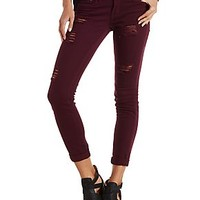 Dollhouse Destroyed Colored Jeans