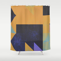 Comfort ZOne Shower Curtain by DuckyB