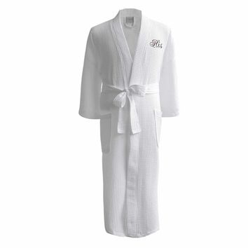 Lakeview Signature Egyptian Cotton Resort Waffle Spa Robe - Gift Shop Baby