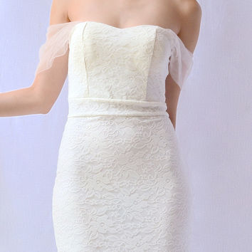 SOFT HARMONY DRESS in WHITE