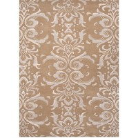 Parisian Scroll Taupe Rug