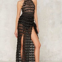 Zhivago Mere Mortal Slit Dress