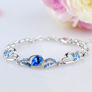 Great Deal New Arrival Shiny Gift Awesome Hot Sale Crystal Korean Stylish Jewelry Accessory Bracelet [11405168847]