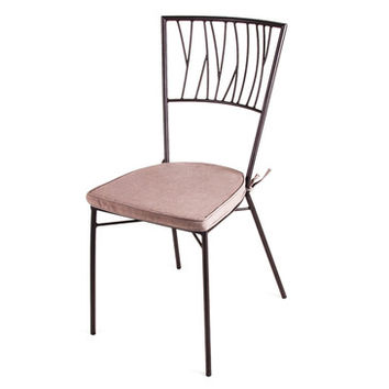New Rustics Mosaic Twig Chair in Wrought Iron