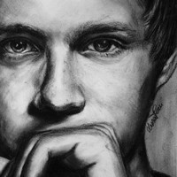 Niall Horan original drawing