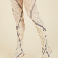 Communicated Charisma Tights | Mod Retro Vintage Tights | ModCloth.com