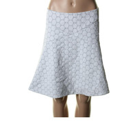 Marc by Marc Jacobs Womens Textured Side Zip Flare Skirt