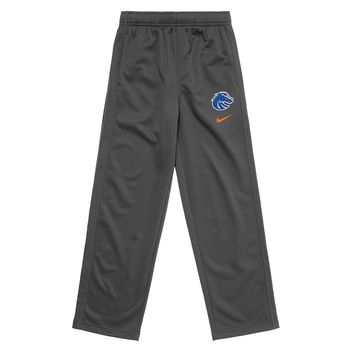 Nike Boise State Broncos KO Therma-FIT Performance Fleece Pants - Boys