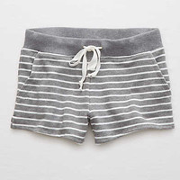 Aerie Easy Fleece Short , Dark Heather