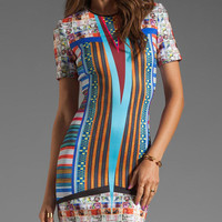 Woven Pesos Printed Dress for Women