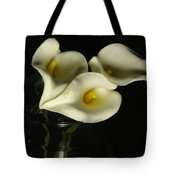Lilies And Glass #2 Tote Bag