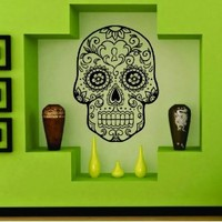 Dabbledown Sugarskull Version 8  Decals, 20 by 28 Inches