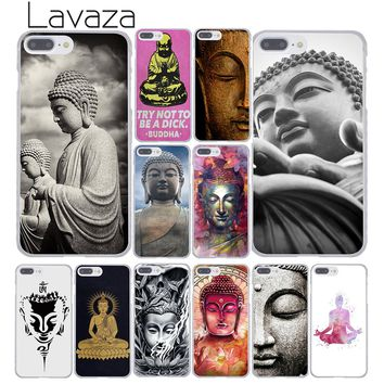 Lavaza 129F Buddha budha Hard Coque Shell Phone Case for Apple iPhone 8 7 6 6S Plus X 10 5 5S SE 5C 4 4S Cover